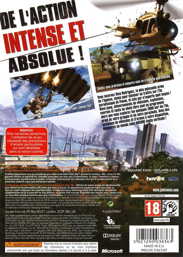 jeuxvideo.com Just Cause 2 - Xbox 360 Image 2 sur 402