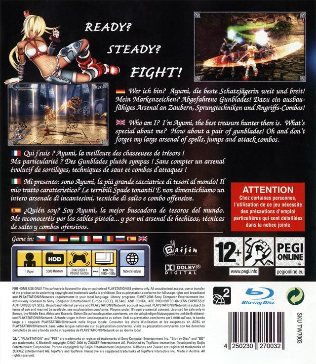 jeuxvideo.com X-Blades - PlayStation 3 Image 2 sur 273