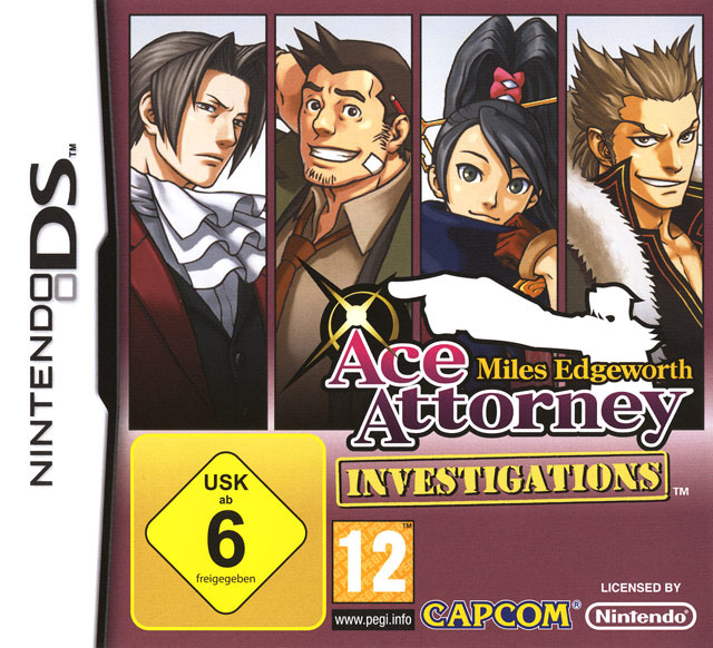 Ace Attorney Investigations : Miles Edgeworth DS