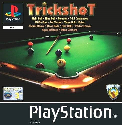 Trickshot sur playstation for Tv show pool hustlers