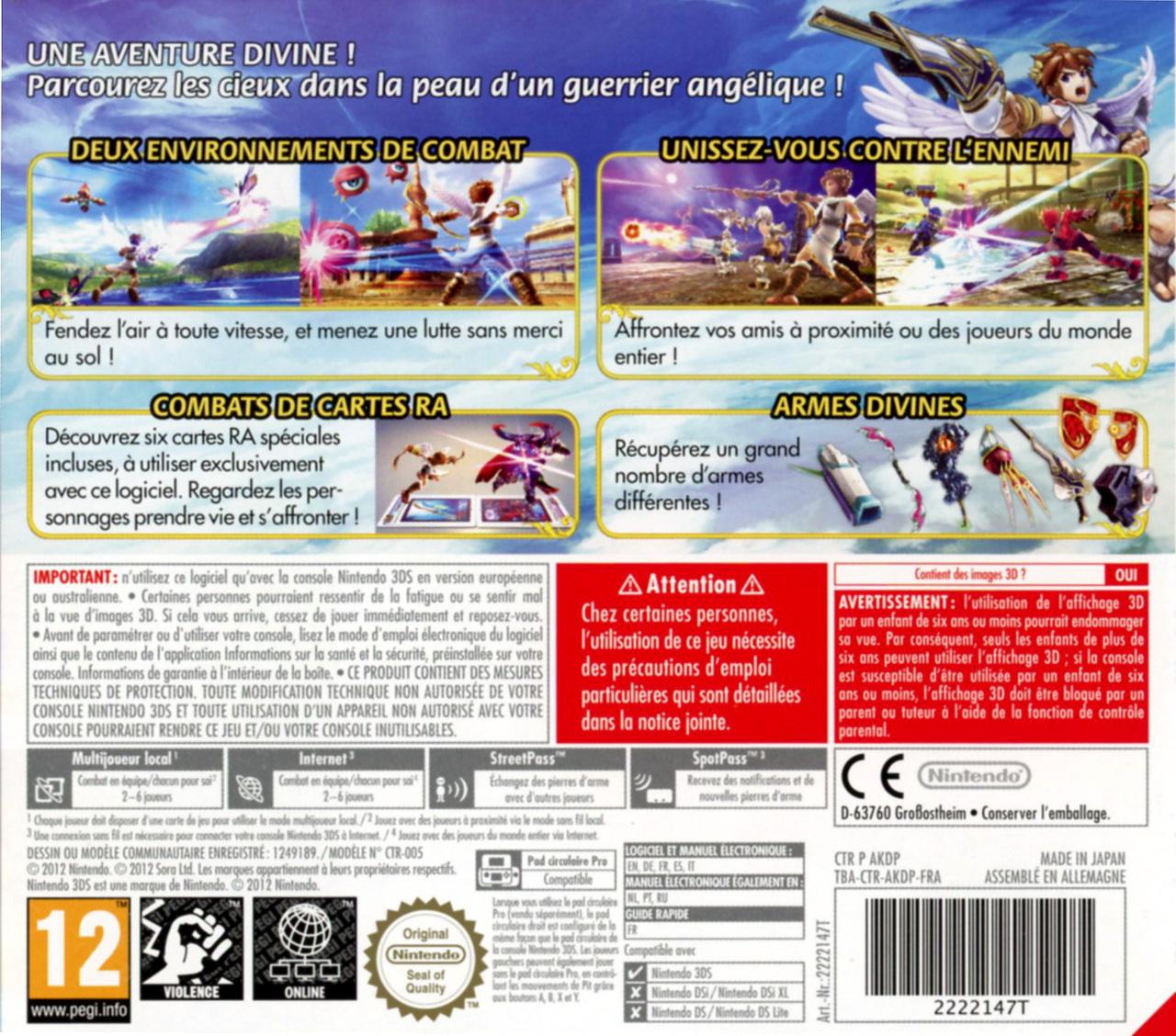 jeuxvideo.com Kid Icarus Uprising - Nintendo 3DS Image 2 sur 275