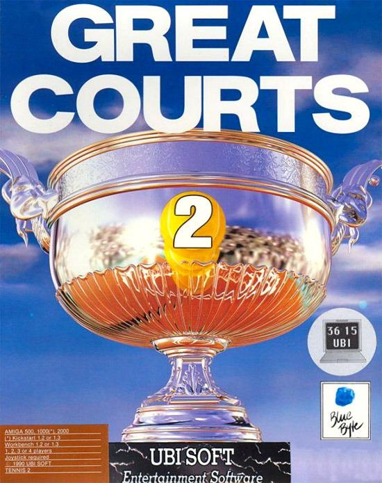 jeuxvideo.com Great Courts 2 - Amiga Image 1 sur 5