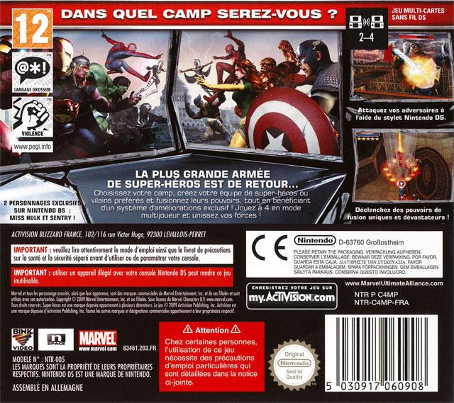 jeuxvideo.com Marvel Ultimate Alliance 2 - Nintendo DS Image 2 sur 47