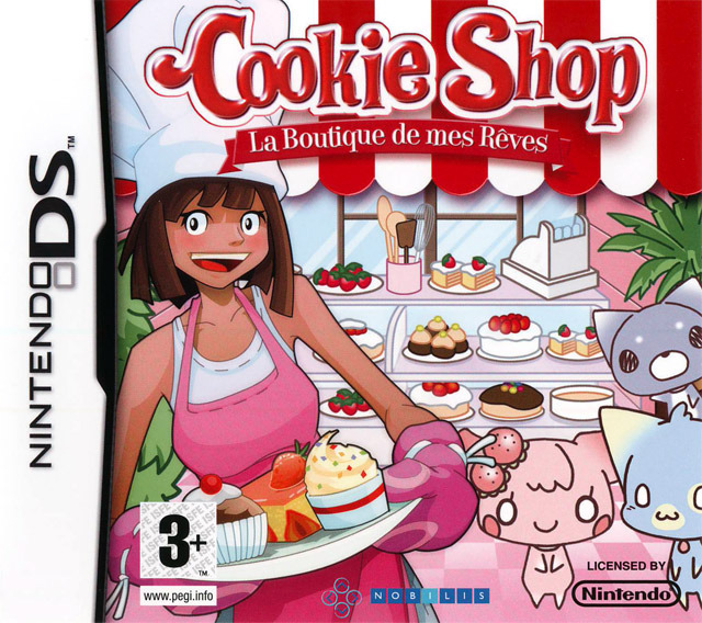 cookie shop sur nintendo ds. Black Bedroom Furniture Sets. Home Design Ideas