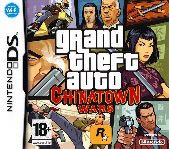 [HF] Grand Theft Auto : Chinatown Wars  [NDS]