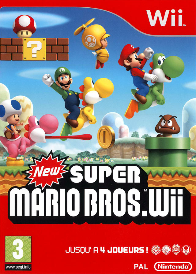 New Super Mario Bros. Wii MULTi LANG Wii