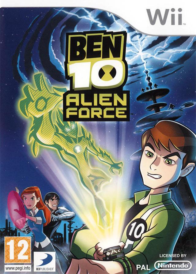 Ben 10 alien force sur wii - Ben 10 tous les aliens ...