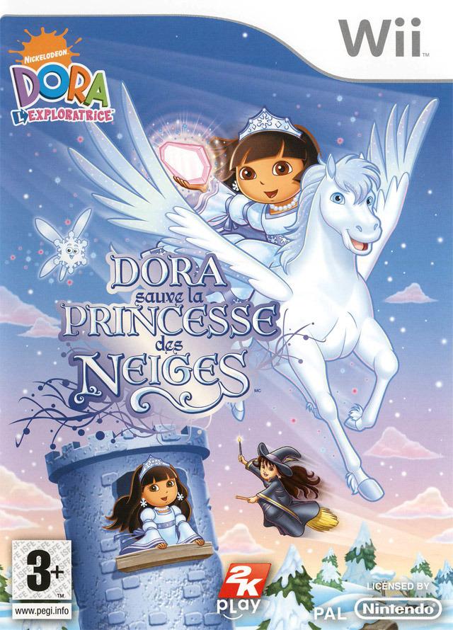 Dora sauve la princesse des neiges sur wii - Image de princesse ...
