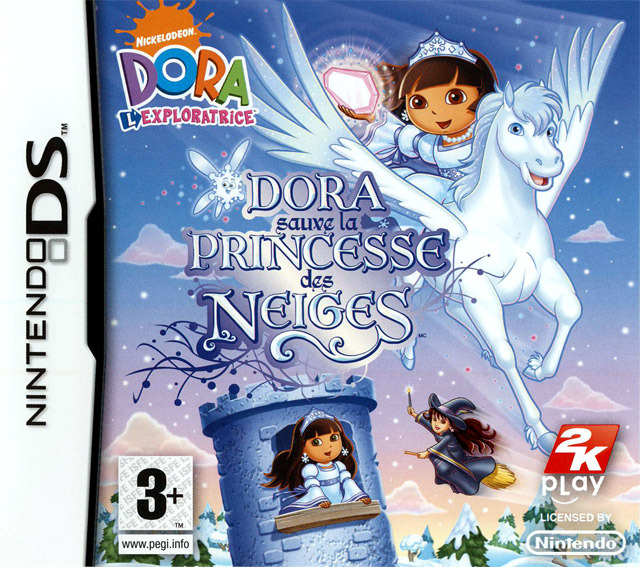 Dora The Explorer Dora Saves The Snow Princess EURO