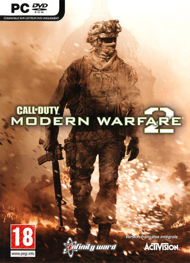 Call Of Duty: Modern Warfare 2 PC Game DVD Cover