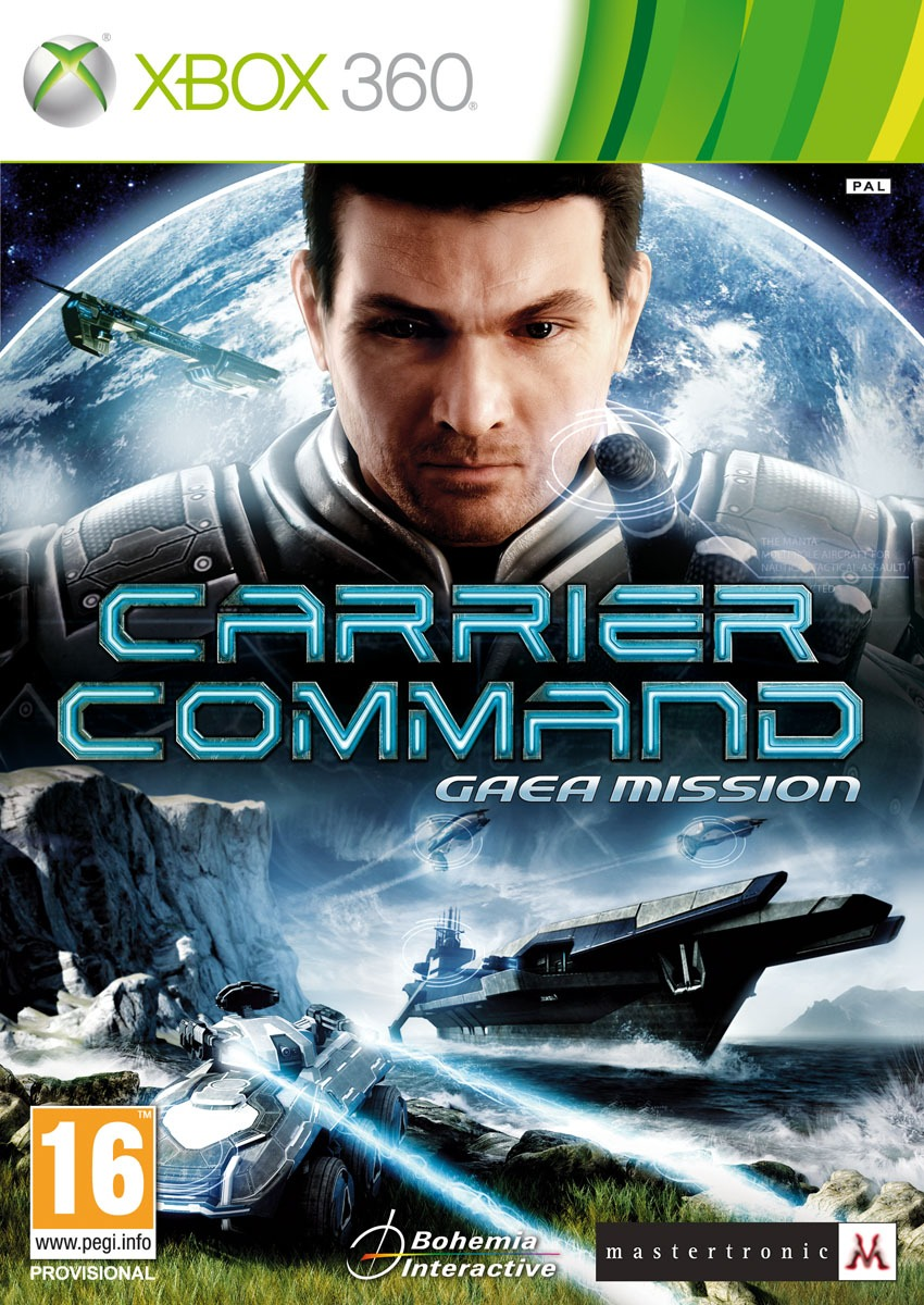 Carrier Command PAL XBOX360 [MULTI]