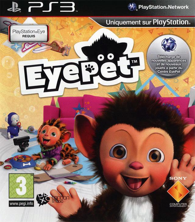 eyepet sur playstation 3. Black Bedroom Furniture Sets. Home Design Ideas