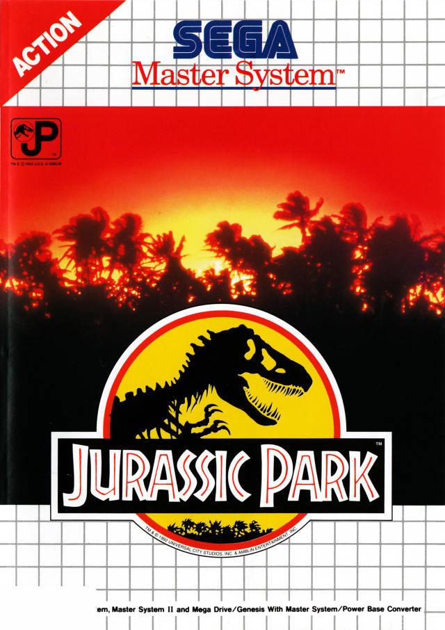 Jurassic park sur master system - Jeux de jurassic park 3 ...