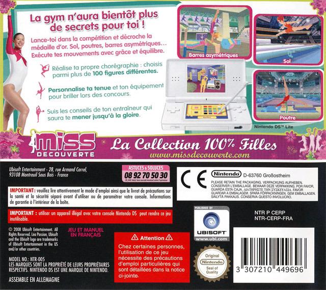 jeuxvideo.com Léa Passion Gymnastique - Nintendo DS Image 2 sur 40