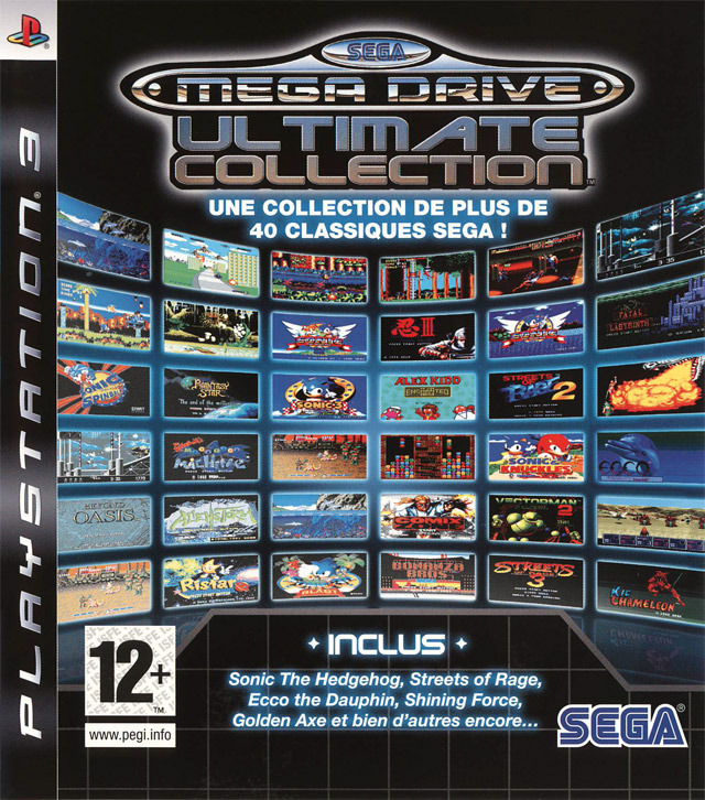 Sega Mega Drive Ultimate Collection [EUR] [MULTI]