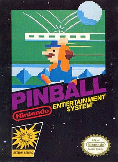 pinball sur nes. Black Bedroom Furniture Sets. Home Design Ideas