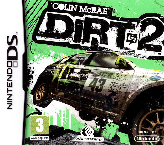 colin mcrae dirt 2 sur nintendo ds. Black Bedroom Furniture Sets. Home Design Ideas