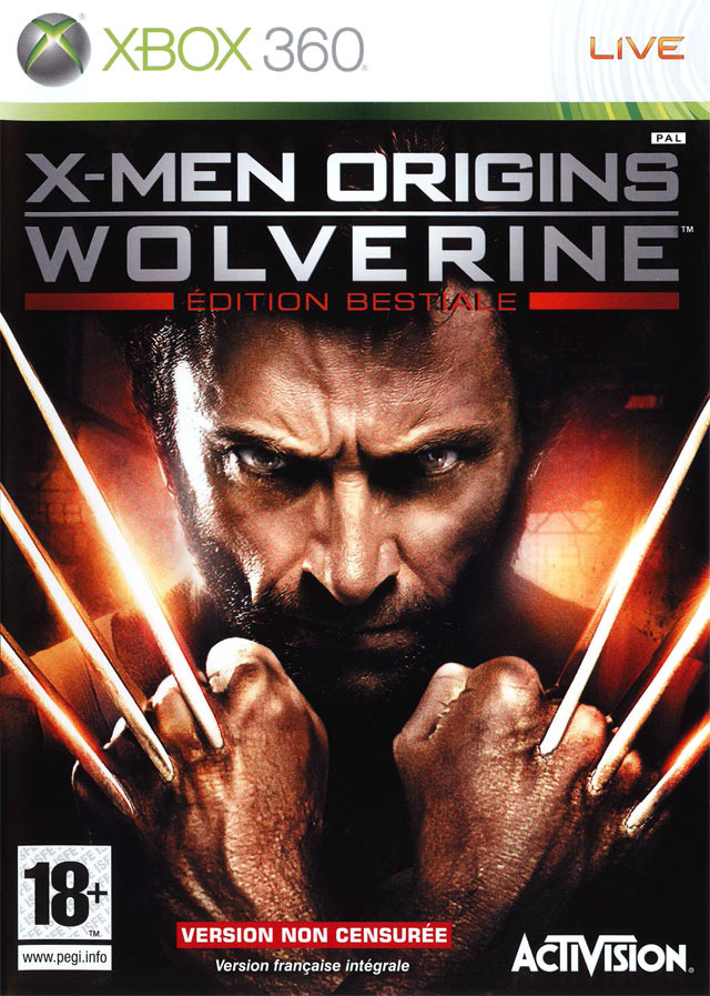 x men origins wolverine sur xbox 360. Black Bedroom Furniture Sets. Home Design Ideas