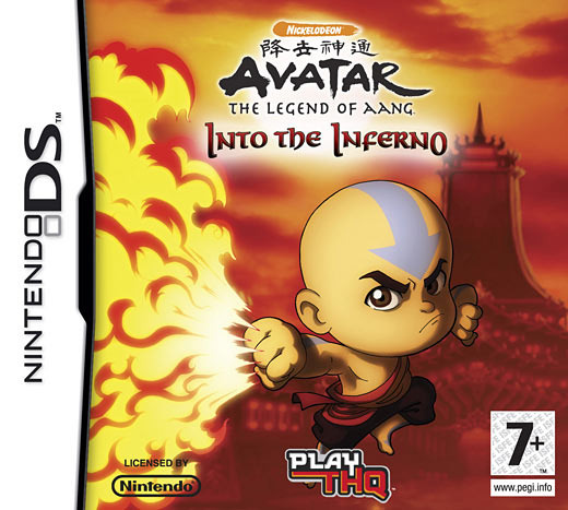 avatar le dernier ma tre de l 39 air into the inferno sur nintendo ds. Black Bedroom Furniture Sets. Home Design Ideas