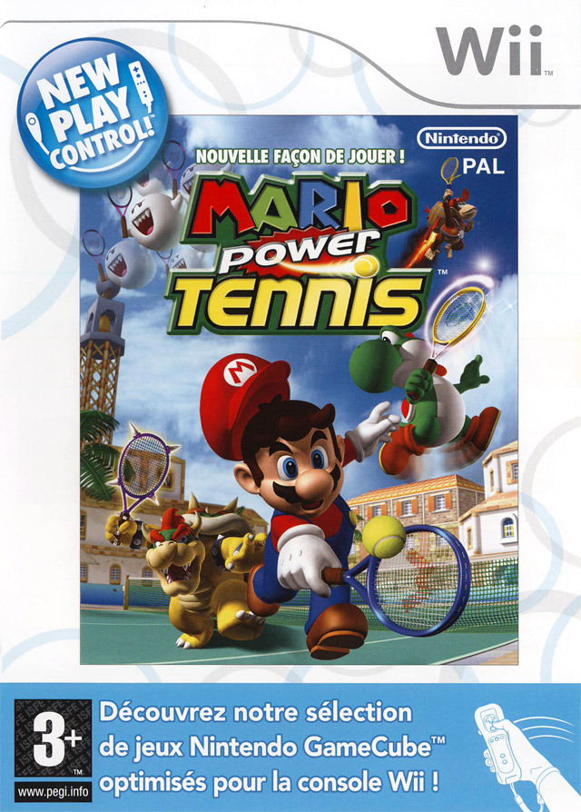 [MU] Wii - Nouvelle Fa?�on de Jouer ! Mario Power Tennis [PAL] [Wii]