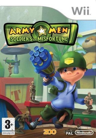 Army Men Soldiers of Misfortune wii NTSC MULTI [FR] [WBFS] [FS]