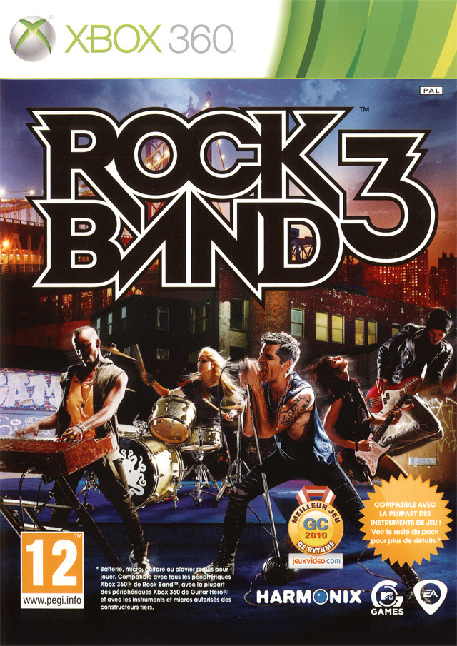 rock band 3 sur xbox 360. Black Bedroom Furniture Sets. Home Design Ideas