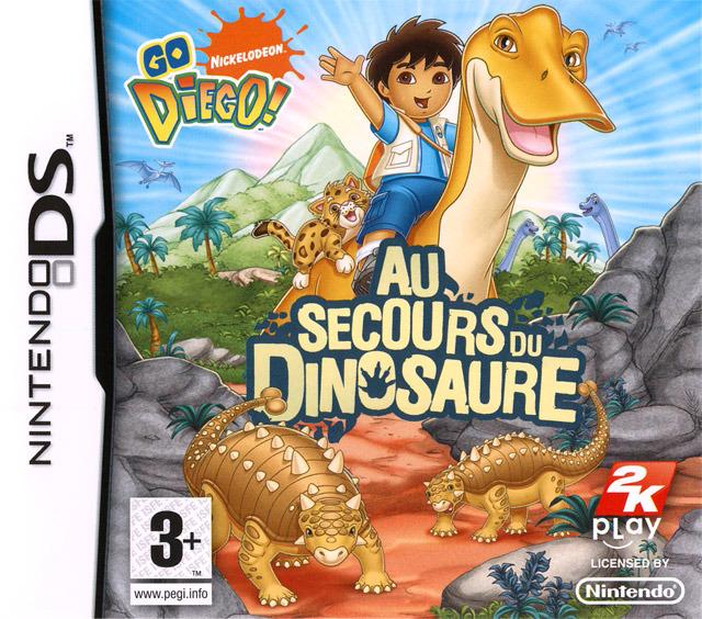 Go Diego ! Au Secours du Dinosaure DS