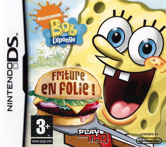 Bob l 39 eponge friture en folie sur nintendo ds - Jeux de spongebob cuisine ...
