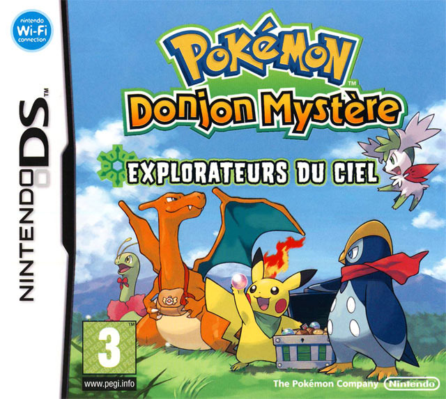[DF] Pok?�mon Donjon Myst??re : Explorateurs du Ciel [DS]