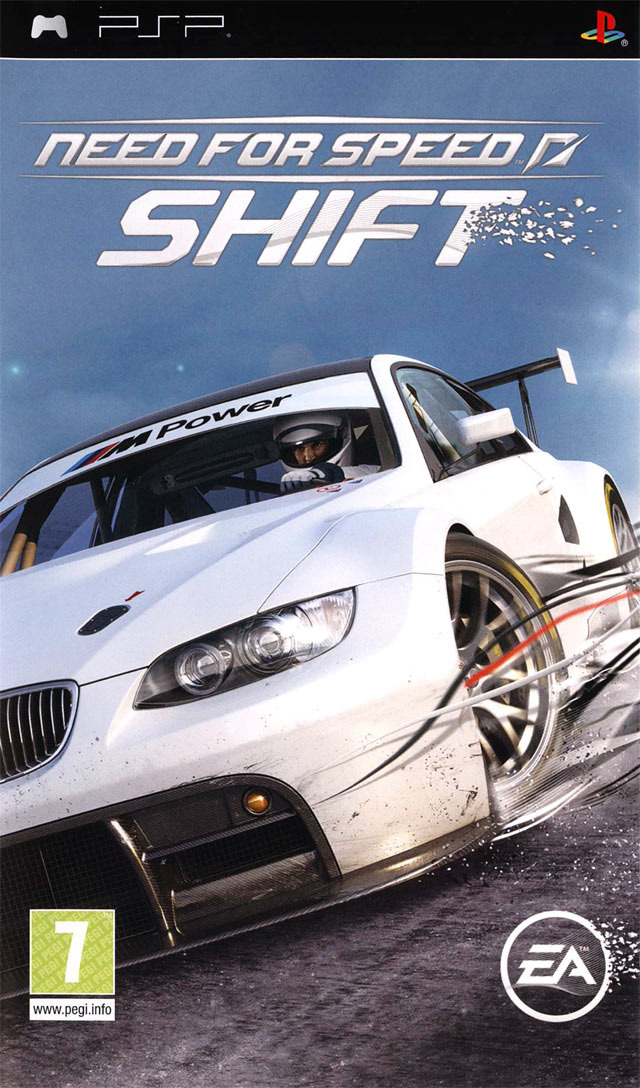 need for speed shift sur playstation portable. Black Bedroom Furniture Sets. Home Design Ideas