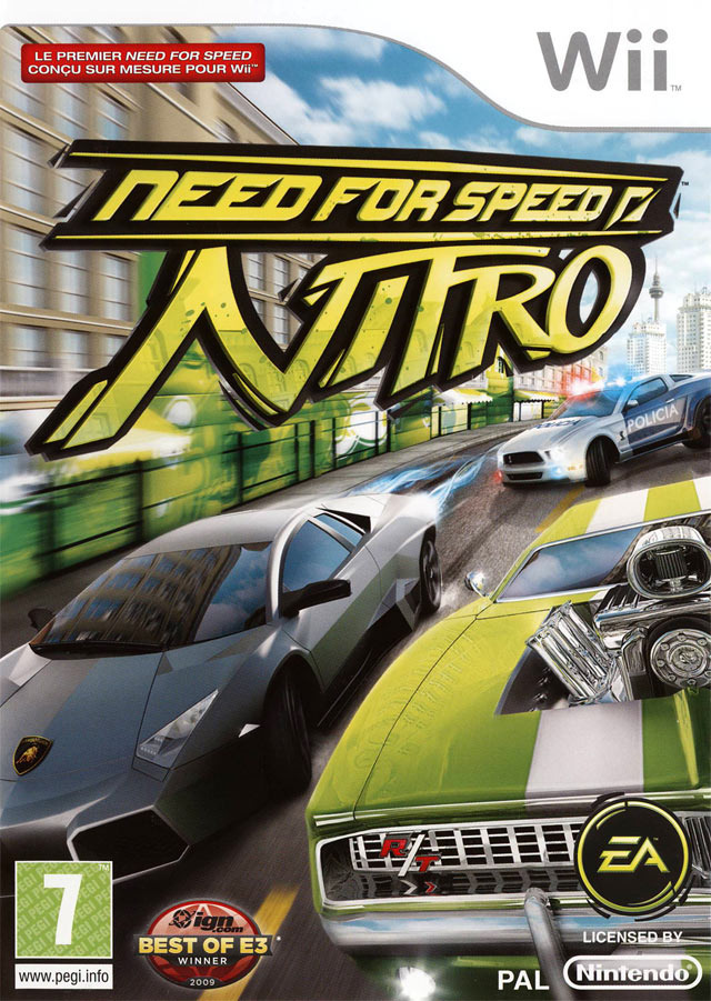 need for speed nitro sur wii. Black Bedroom Furniture Sets. Home Design Ideas