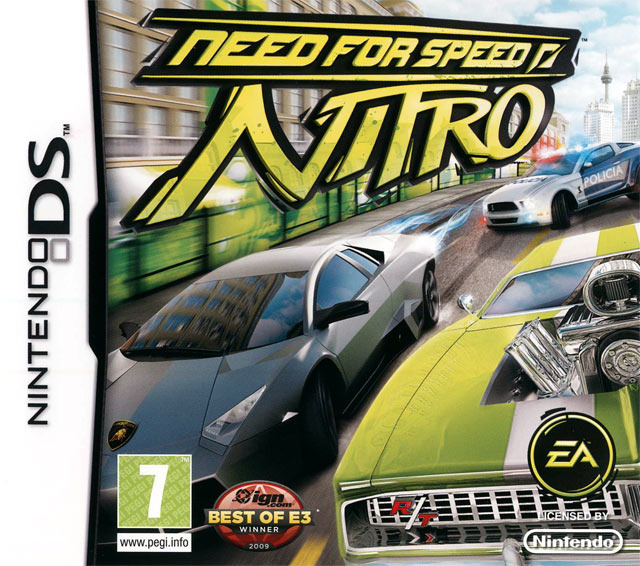 need for speed nitro sur nintendo ds. Black Bedroom Furniture Sets. Home Design Ideas