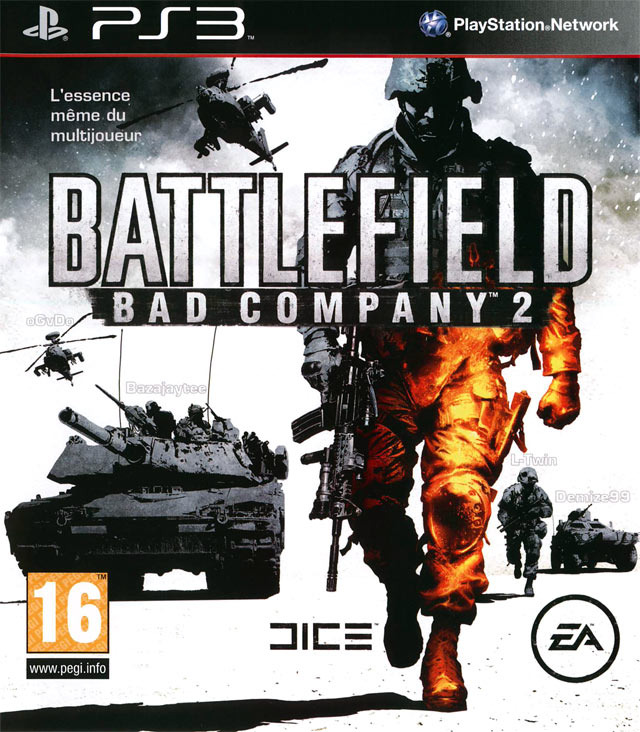 Battlefield Bad Company 2 | PAL PS3 Jailbreak | Megaupload Multi Lien