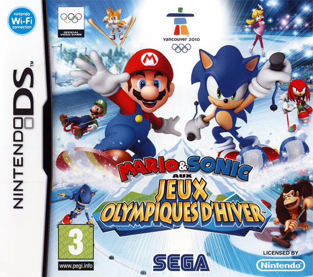 Mario & Sonic aux Jeux Olympiques d'Hiver [Multi] [Nintendo DS]