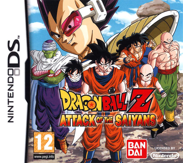 Dragon Ball Z : Attack of the Saiyans DS