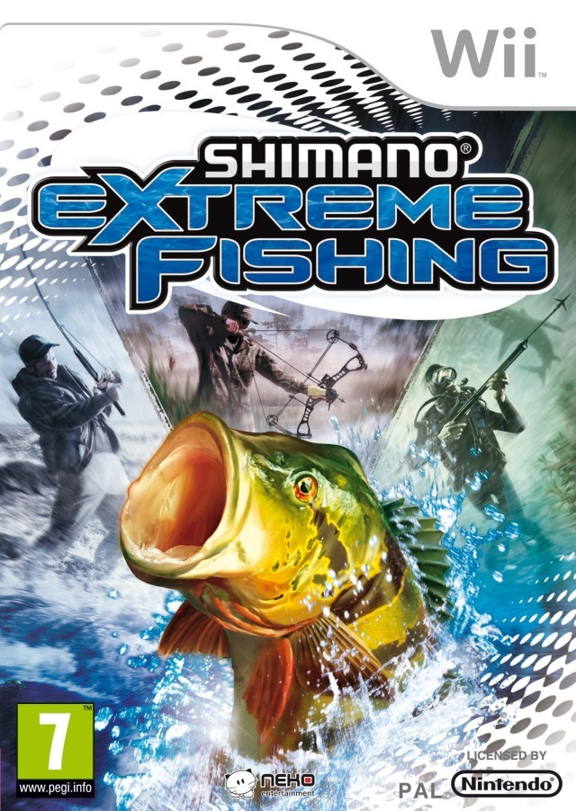Shimano xtreme fishing sur wii for Ps4 fishing games 2017