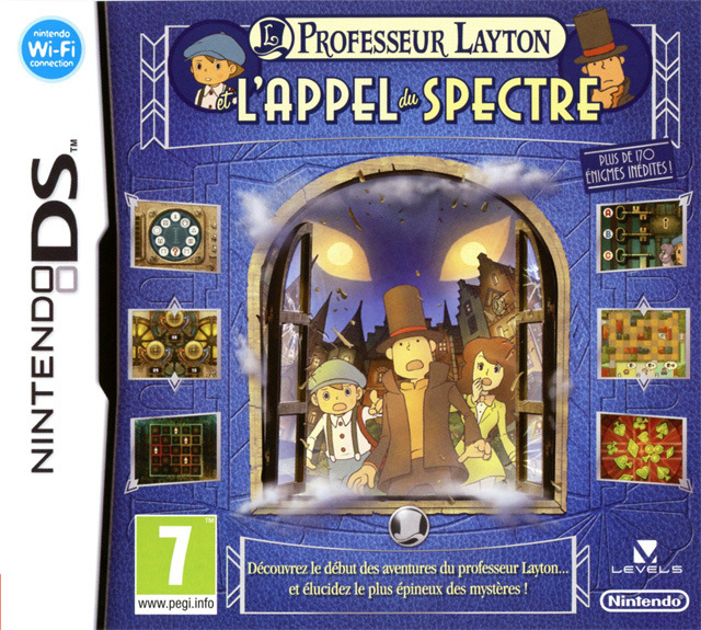 [UP.TO] Professeur Layton et l'Appel du Spectre FRA [DS]