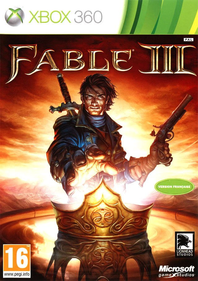 Fable 3 [FRENCH] [Xbox 360] [FS] (Exclue 1 lien)