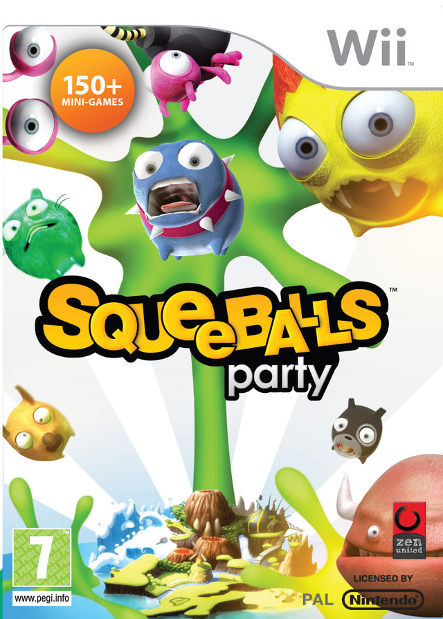 MULTI-HOST] Squeeballs Party [Party Game][PAL][WII]