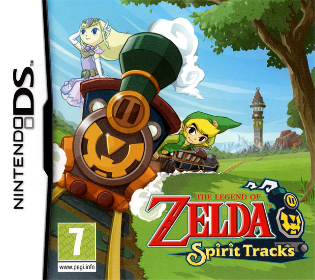 The Legend of Zelda : Spirit Tracks MULTILANGUE