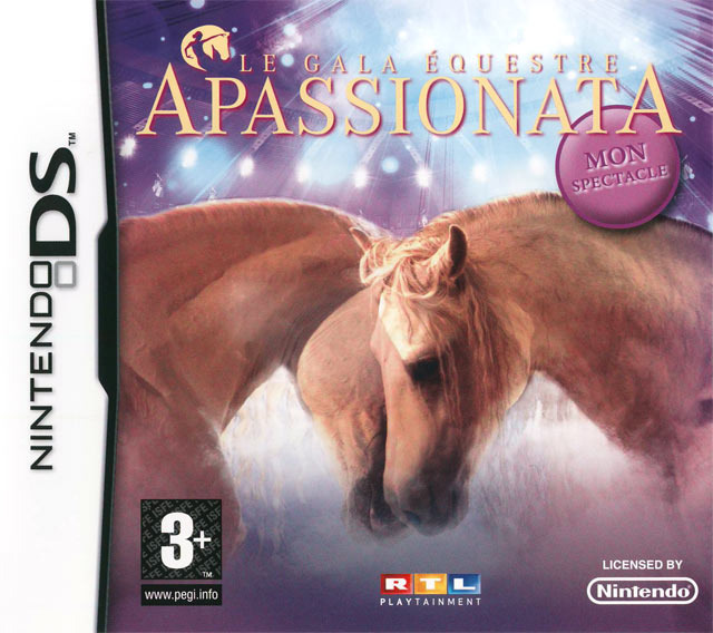 apassionata le gala equestre sur nintendo ds. Black Bedroom Furniture Sets. Home Design Ideas