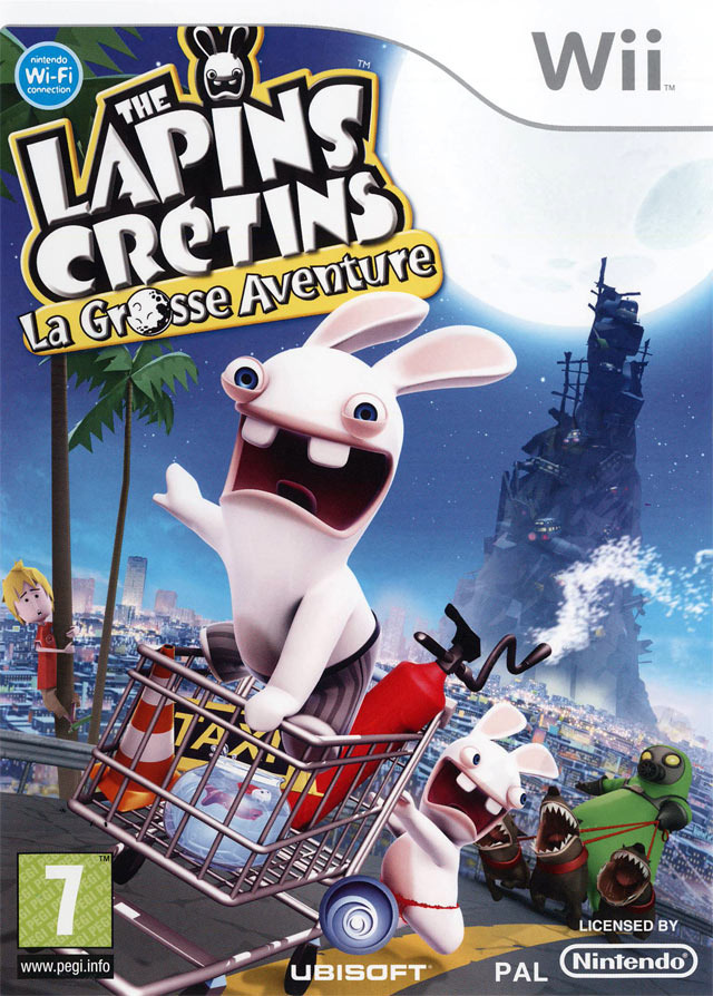 the lapins cr tins la grosse aventure sur wii. Black Bedroom Furniture Sets. Home Design Ideas