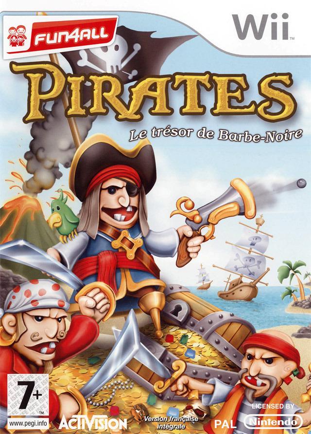 [FS]  Pirates : Le Trésor de Barbe-Noire  [WII]