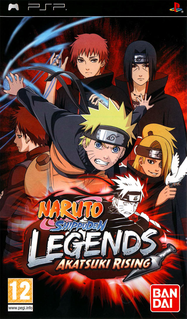 [Rs] Naruto Shippuden Legends : Akatsuki Rising (PSP)