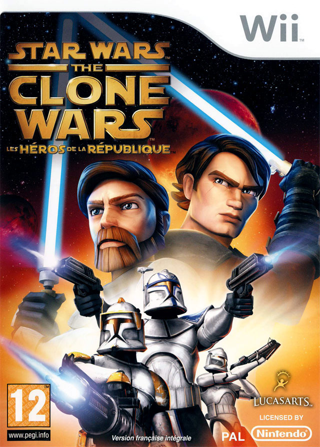 [MU] Wii - Star Wars The Clone Wars - Les H?�ros de la R?�publique [PAL] [Wii]