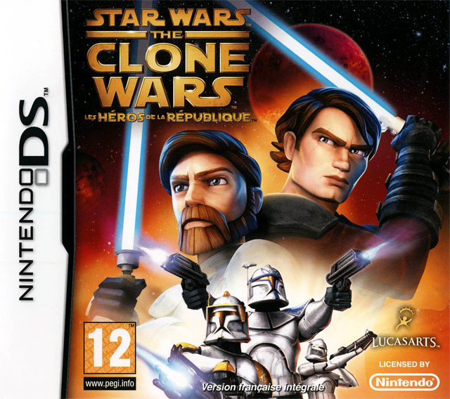 star wars the clone wars les h ros de la r publique sur nintendo ds. Black Bedroom Furniture Sets. Home Design Ideas