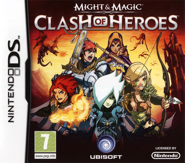 might magic clash of heroes sur nintendo ds. Black Bedroom Furniture Sets. Home Design Ideas
