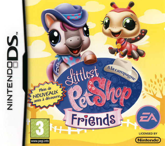 Littlest Pet Shop Friends : A la Campagne DS