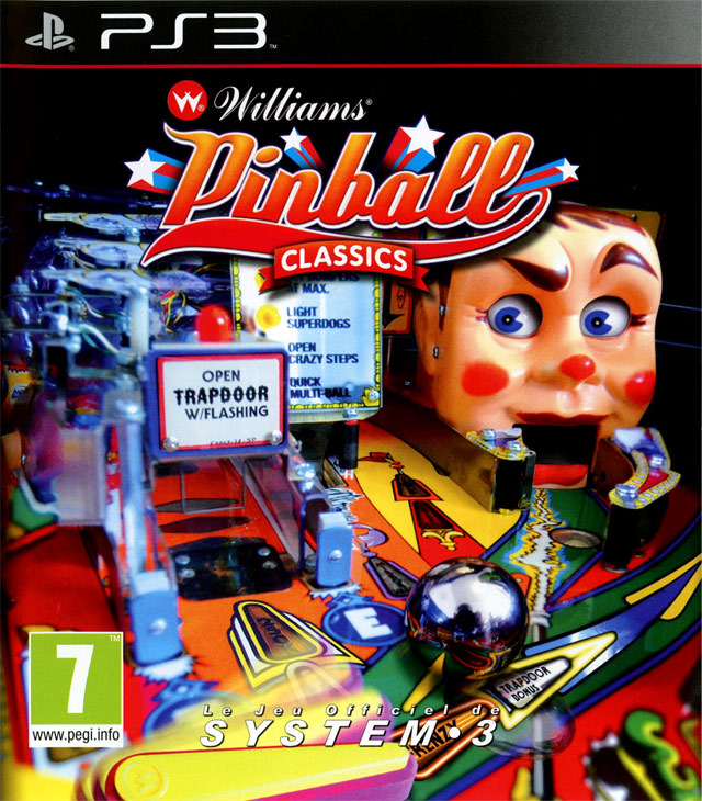 Williams Pinball Classics EUR PS3 [FS]