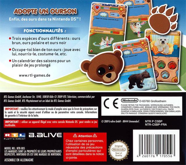 jeuxvideo.com Little Bears - Nintendo DS Image 2 sur 29
